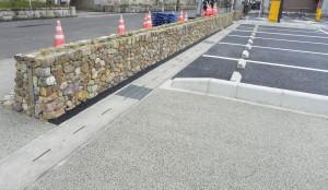 駐車場整備工事1